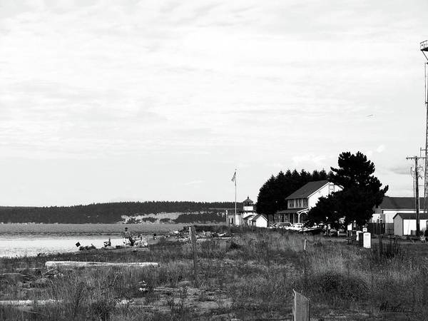 Hansville Washington Art Print featuring the photograph Point No Point Light by Marti Green