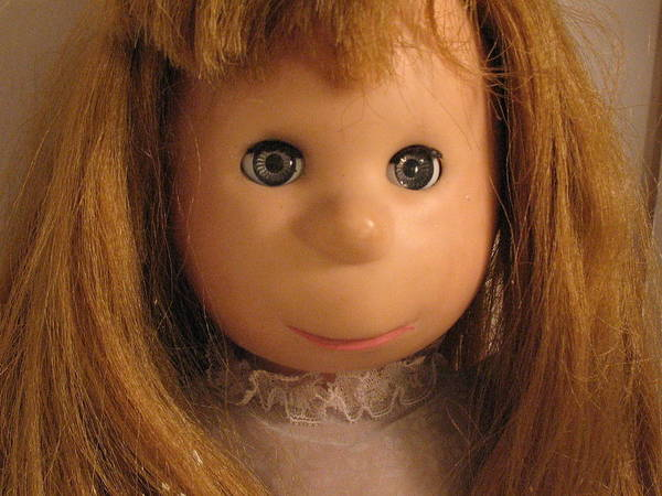Doll Art Print featuring the photograph Poor Pitiful Pearl by Susie DeZarn