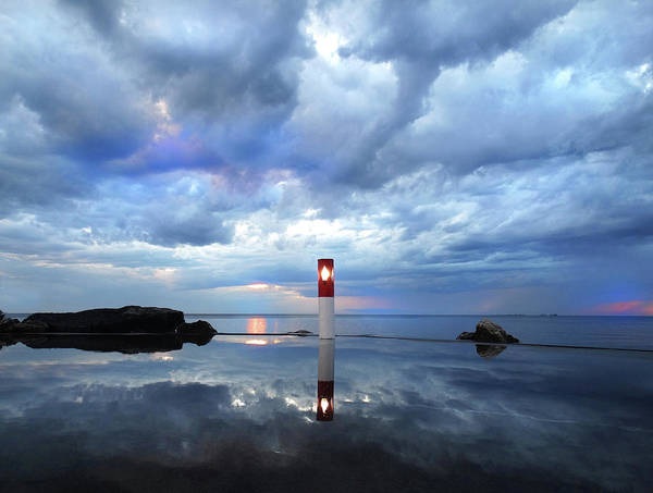 Thunderstorm Art Print featuring the photograph Reflection After A Rain 2 by David T Wilkinson
