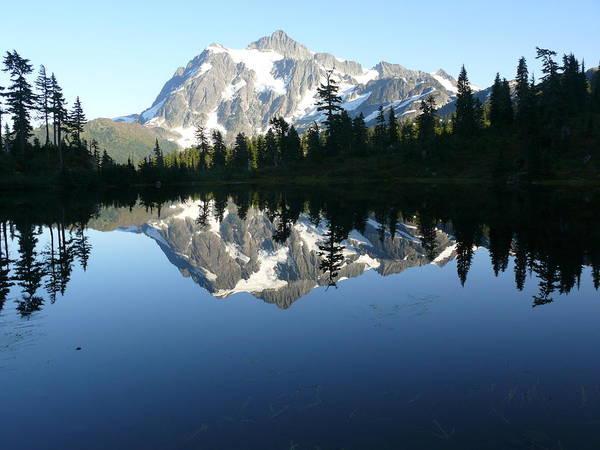 Mount Baker Nf Art Print featuring the photograph Reflection Lake by Joel Deutsch