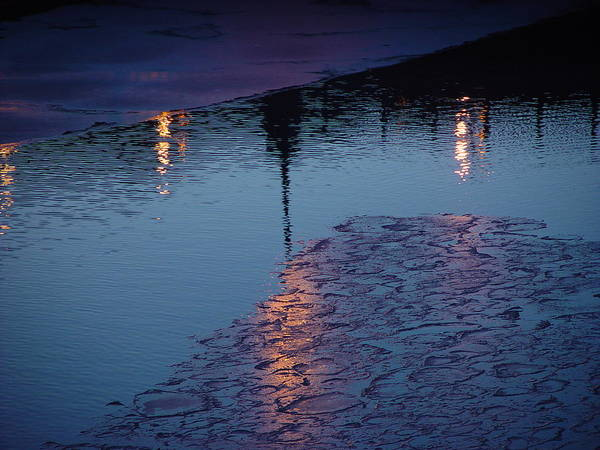 Water Art Print featuring the photograph Reflections by Eric Workman