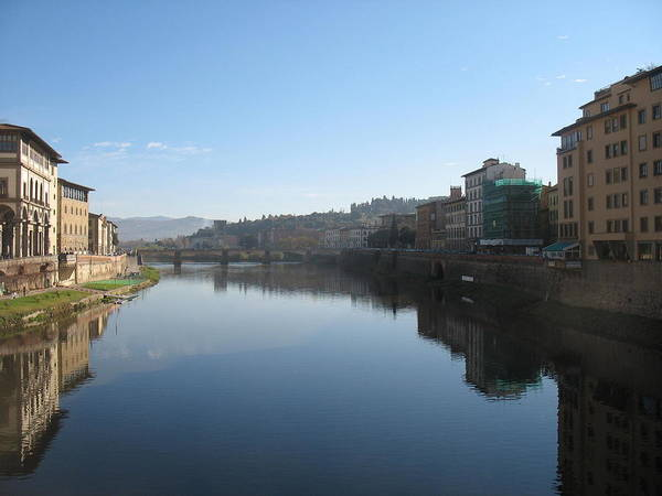 Florence Art Print featuring the photograph Reflections Of Italy by Paul Shier