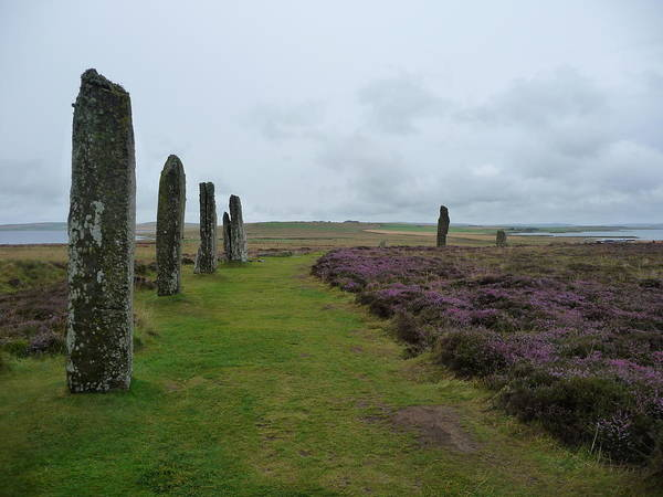 Scotland Art Print featuring the photograph Ring Of Brodgar by TL Randleman
