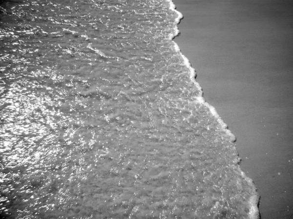 Water Art Print featuring the photograph Seafoam by Nicole I Hamilton