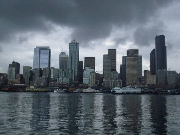 Seattle Art Print featuring the photograph Seattle by TL Randleman