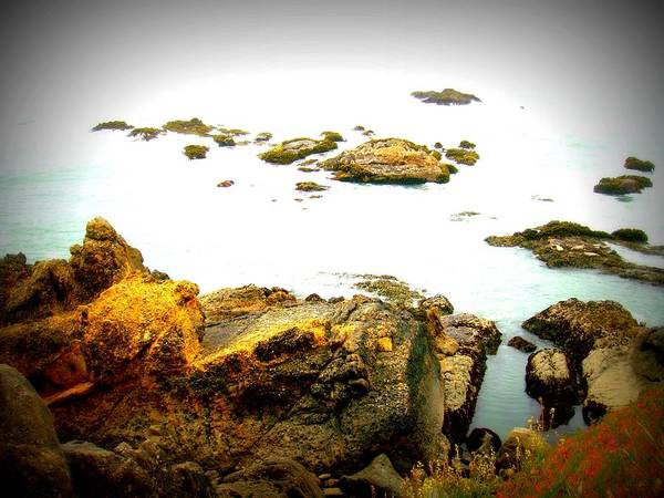 Ocean Art Print featuring the photograph Serenity by Melissa KarVal