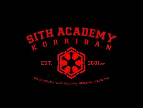 Korriban Art Print featuring the digital art Sith Academy by Gerry Kalina