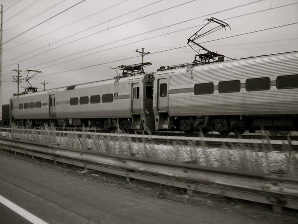 Landscape Art Print featuring the photograph South Shore Line by Moby Kane