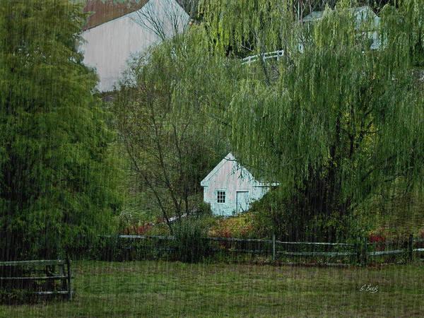 Rural Art Print featuring the photograph Spring Rain by Gordon Beck