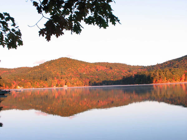 Squam Lake Art Print featuring the photograph Squam Lake 2 by Michael Mooney