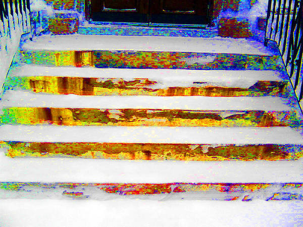 Stairs Art Print featuring the photograph Stairway To... by Lyle Crump