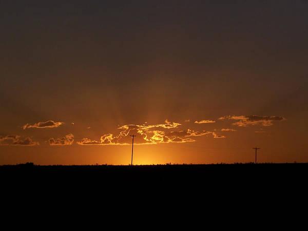 Digital Art Print featuring the photograph Sunrise 2 by Travis Wilson