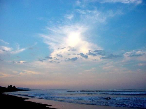 Sunrise Art Print featuring the photograph Sunrise In Costa Rica by PJ Cloud