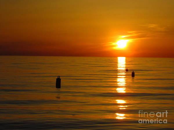 Sunset Art Print featuring the photograph Sunset 2 by Donica Abbinett