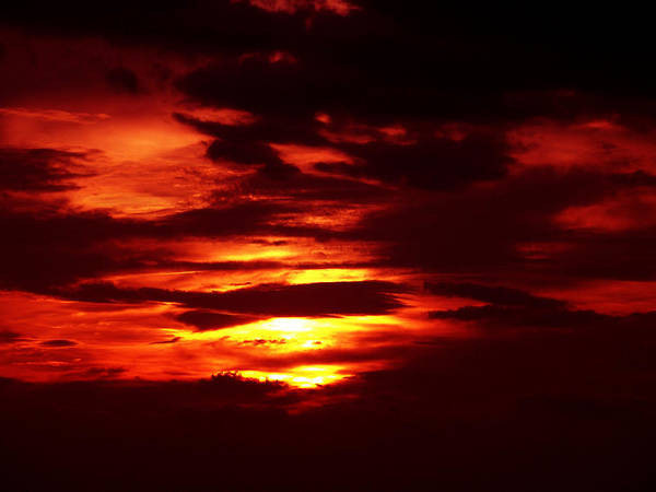 Sunset Photography Art Print featuring the photograph Sunset 3 by Evelyn Patrick