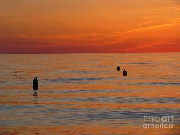 Sunset Art Print featuring the photograph Sunset 7 by Donica Abbinett