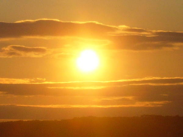 Sunset Art Print featuring the photograph Sunset On The Horizon 3 by Sharon Stacey