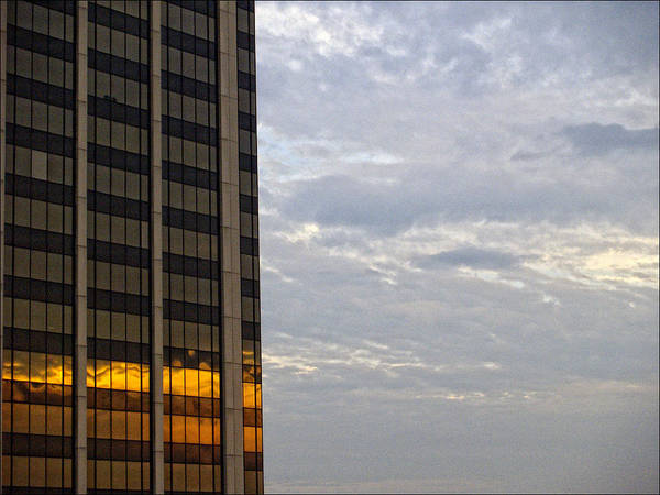 Sunset Art Print featuring the photograph Sunset White Plains Ny by Robert Ullmann