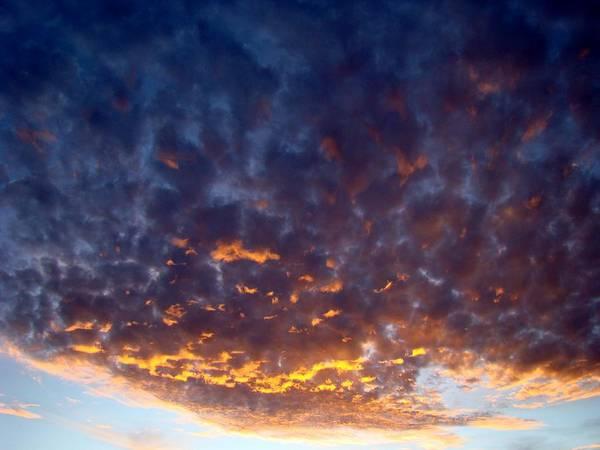 Cloud Art Print featuring the photograph Supernatural Cloud One by Ana Villaronga