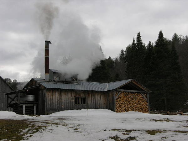 Sugar House Art Print featuring the photograph Sweet Smoke by Peter Williams
