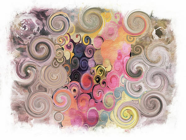 Swirls Art Print featuring the photograph Swirls by Tina Araquistain