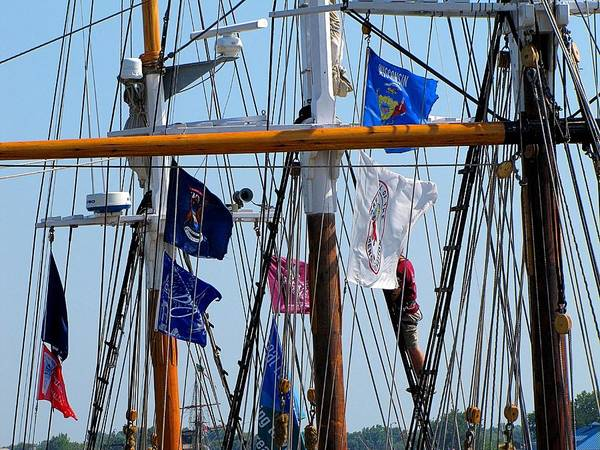 Hovind Art Print featuring the photograph Tall Ship Series 15 by Scott Hovind