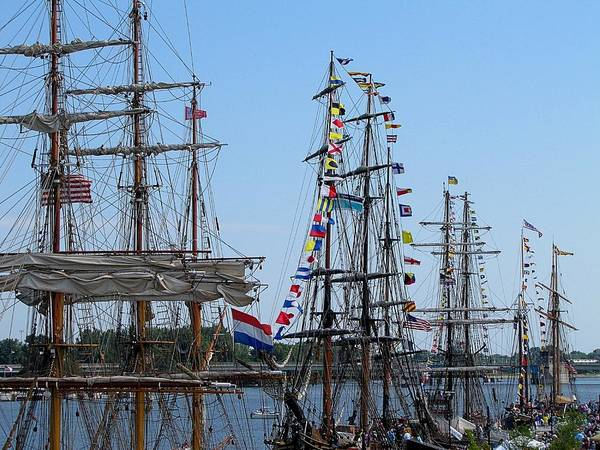 Hovind Print featuring the photograph Tall Ship Series 9 by Scott Hovind