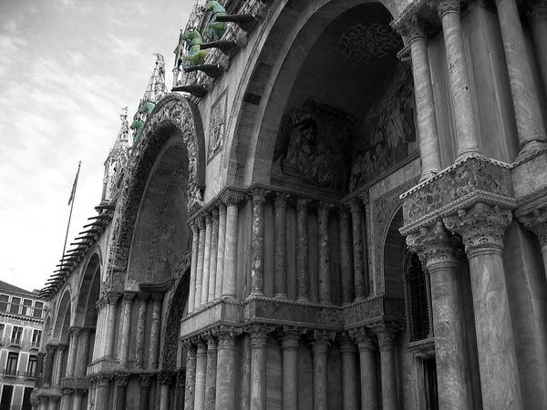 Architecture Art Print featuring the photograph The Horses Of St. Mark by Dylan Punke