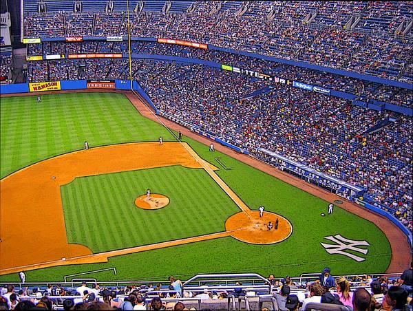 Yankee Art Print featuring the photograph The Original Yankee Stadium by Ronald Fleischer