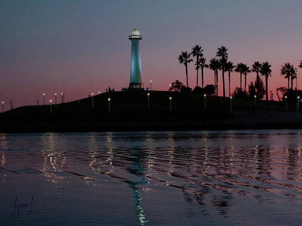 Lighthouse Art Print featuring the photograph Tones In Twilight by S Lynn Lehman