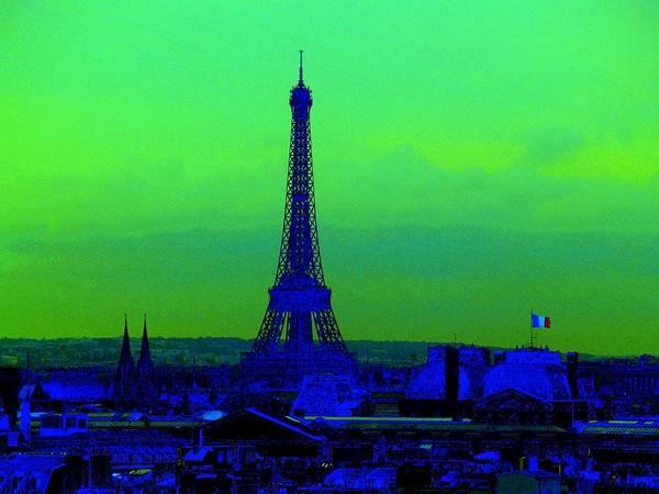 Eiffel Tower Art Print featuring the photograph Tour Eiffel by Aline Kala
