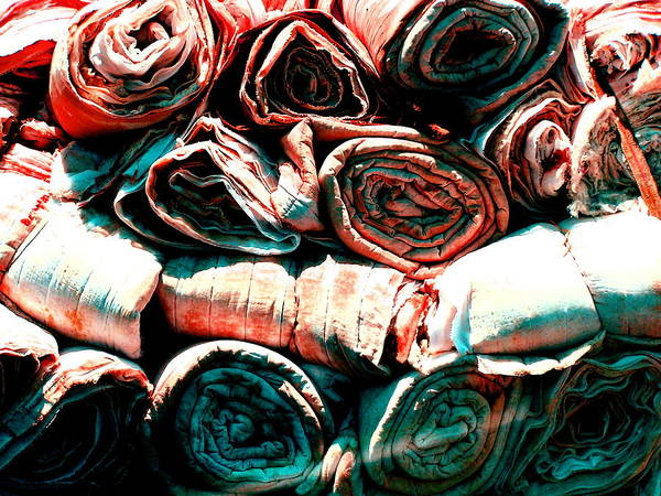 Cloth Art Print featuring the photograph Untitled by M Pace