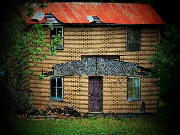 Vacant Art Print featuring the photograph Vacant House by Michael L Kimble