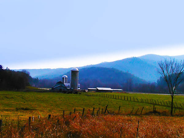 Vermont Art Print featuring the photograph Vermont Farm by Bill Cannon