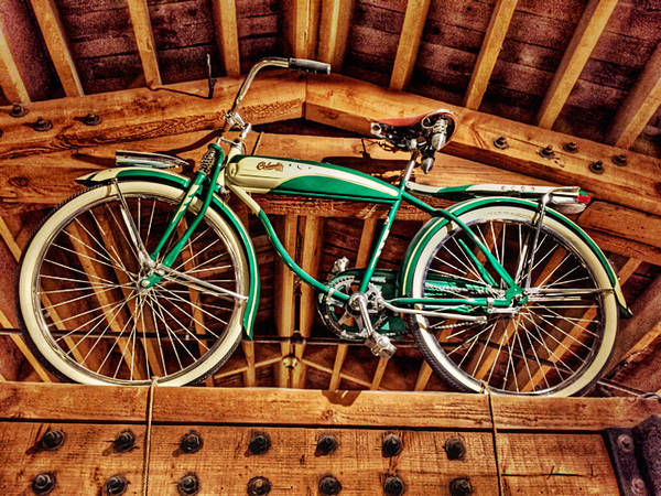Vintage Bicycle Art Print featuring the photograph Vintage Cicycle by Pat Moore