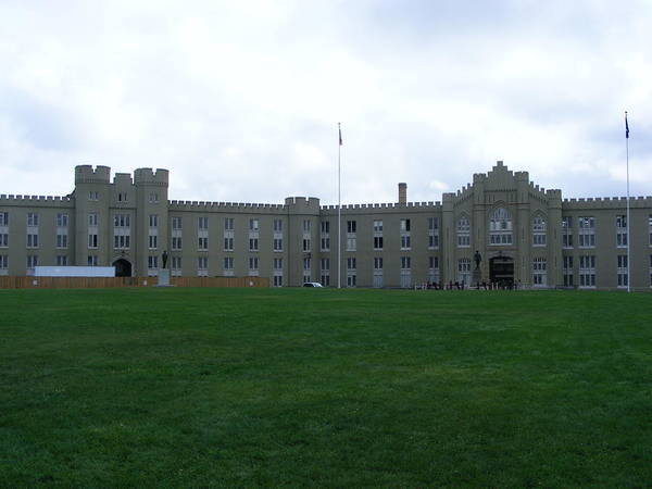 Vmi Art Print featuring the photograph Virginia Military Institute by Eddie Armstrong