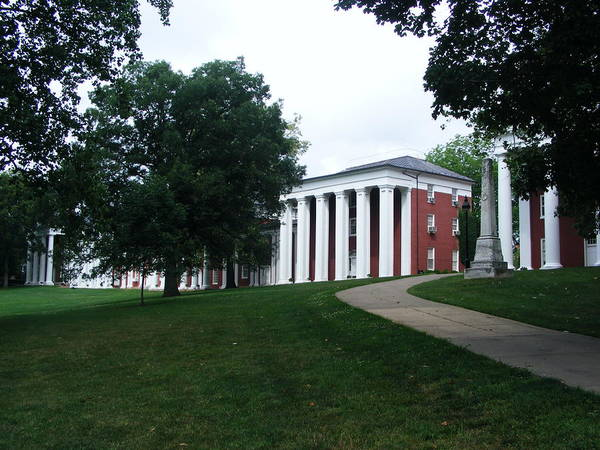Generals Art Print featuring the photograph Washington And Lee University by Eddie Armstrong