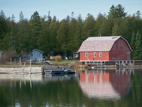 Washington Island Art Print featuring the photograph Washington Island Harbor 6 by Anita Burgermeister