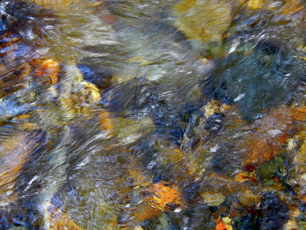 Colorful Water Art Art Print featuring the photograph Water Whimsy 173 by George Ramos