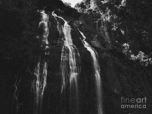 Waterfall Art Print featuring the photograph Waterfall by Tran Minh Quan