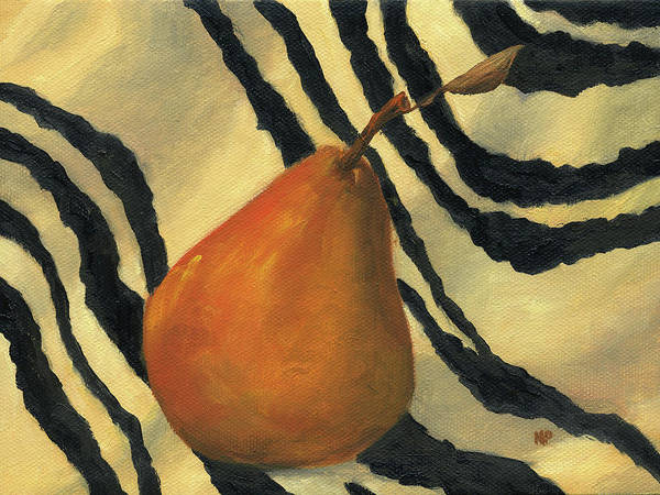 Still Life Art Print featuring the painting Wild Pear by Marina Petro