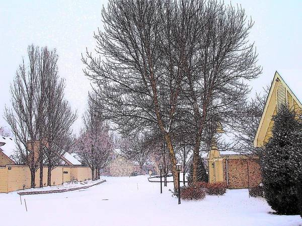 Winter Art Print featuring the photograph Winter At Tifton Green by Vijay Sharon Govender