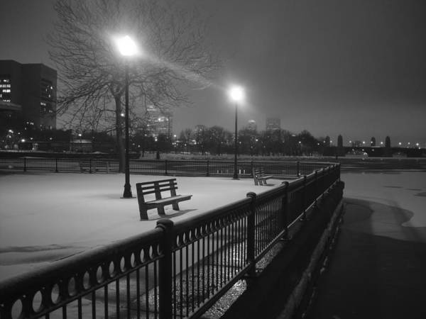 Winter Art Print featuring the photograph Winter In The Park by Eric Workman