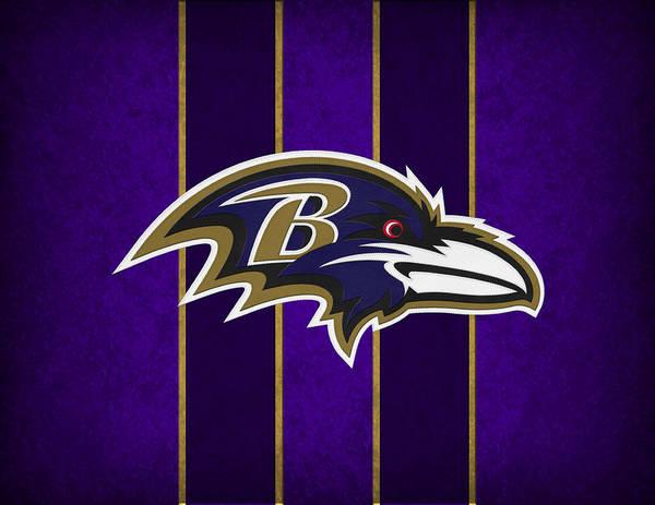 Ravens Art Print featuring the photograph Baltimore Ravens by Joe Hamilton