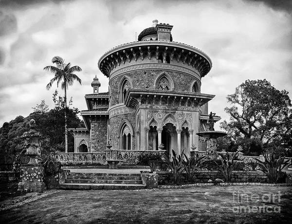 Palace Print featuring the photograph Monserrate Palace by Jose Elias - Sofia Pereira