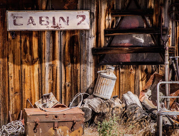 Techatticup Gold Mine Art Print featuring the photograph Cabin 2 by Onyonet Photo Studios