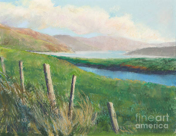 Landscape Art Print featuring the painting Isle Of Skye IIi by Paula Wild