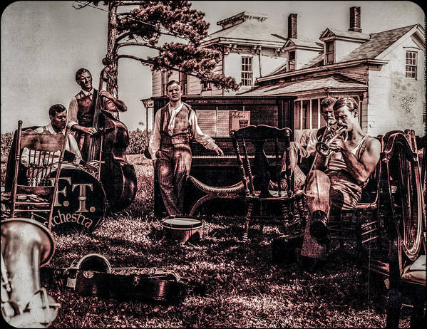 Bix Art Print featuring the photograph Jam Session by Ray Congrove