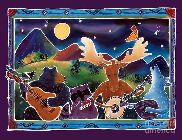 Music Art Print featuring the painting Jamboree by Harriet Peck Taylor