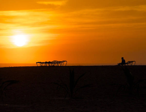 Beach Art Print featuring the photograph Last Call Nicaragua by Jay Campbell